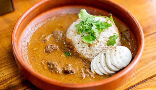 マトンレザラカレー Mutton Rezala Curry