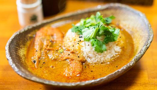 薬膳エビカレー(海老2匹) Shrimp Curry