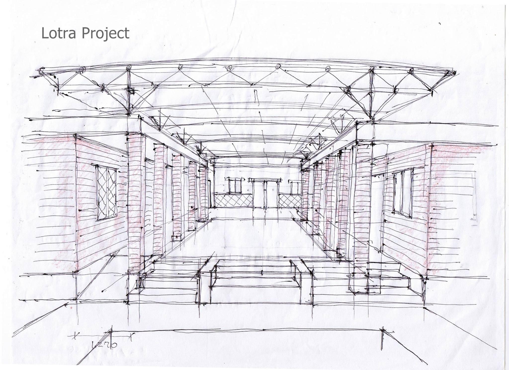 ロトラ村診療所 設計図