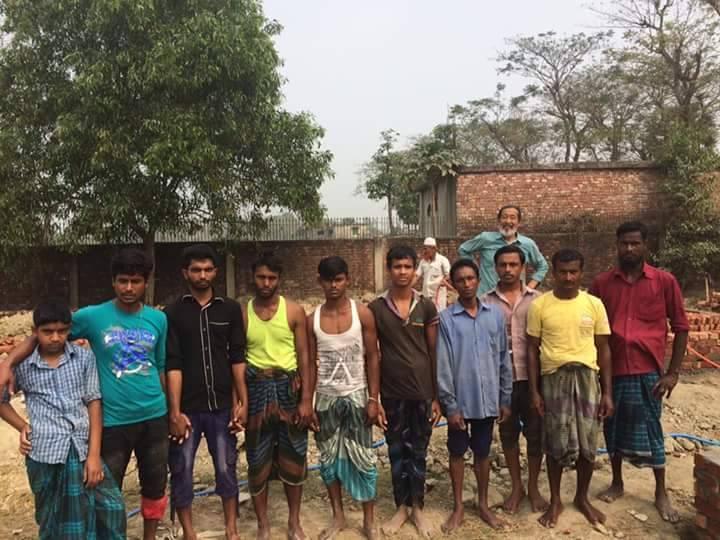 バングラデシュの人たち